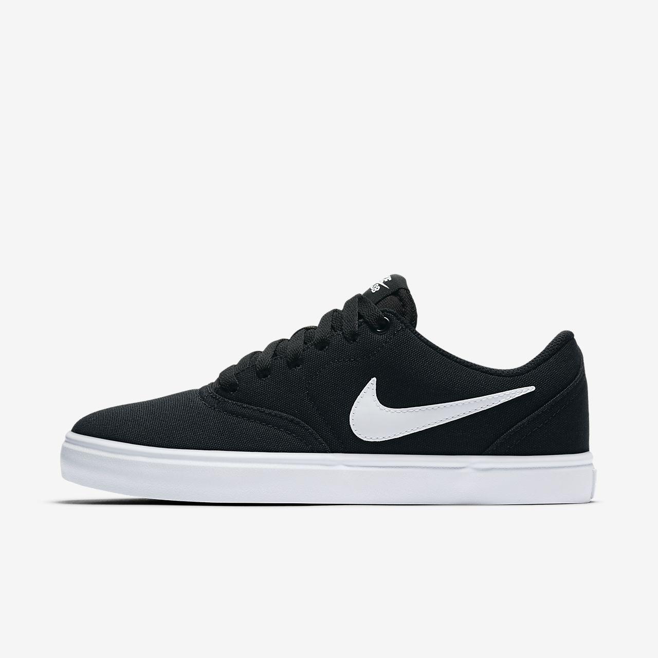 nike skate shoes ... nike sb check solarsoft canvas womenu0027s skateboarding shoe UNPZGWM