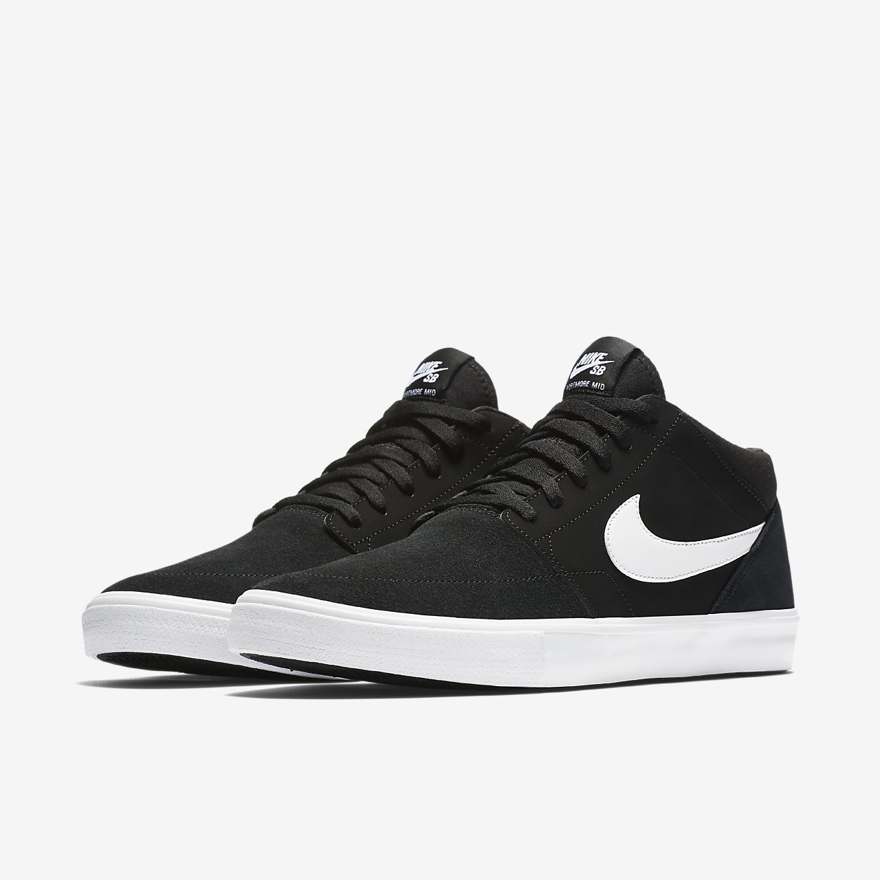 nike skate shoes ... nike sb solarsoft portmore ii mid menu0027s skateboarding shoe UKBWOHZ