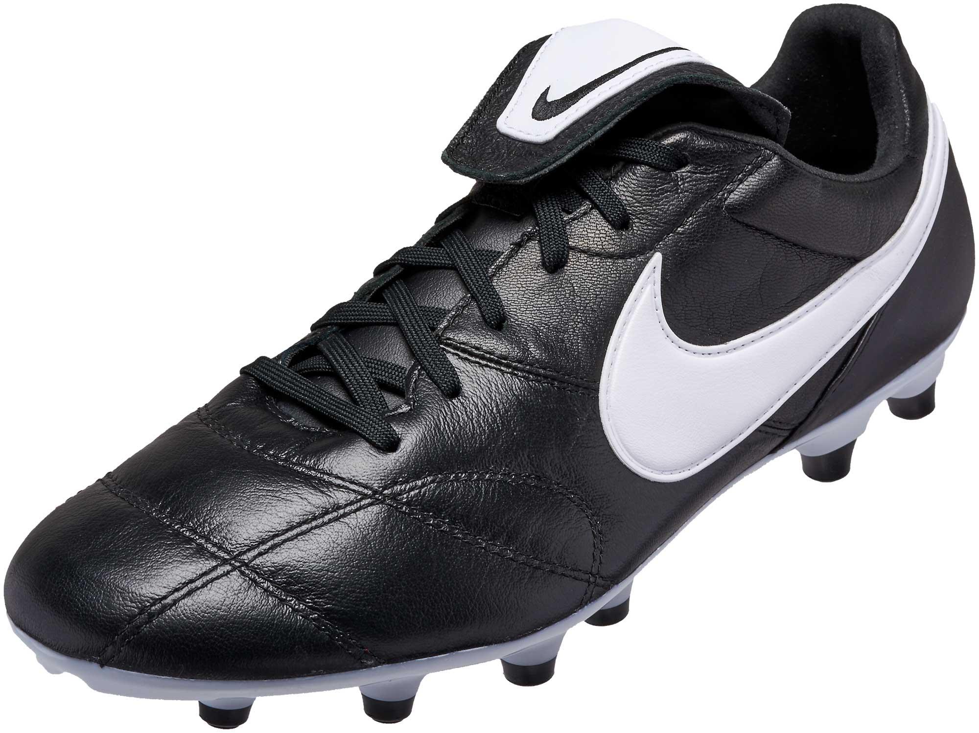 Nike soccer cleats nike premier ii fg - black/white KNUPQUW