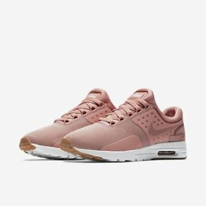 nike womens trainers image is loading nike-womens-air-max-zero-pink-red-stardust- KHYWBEZ