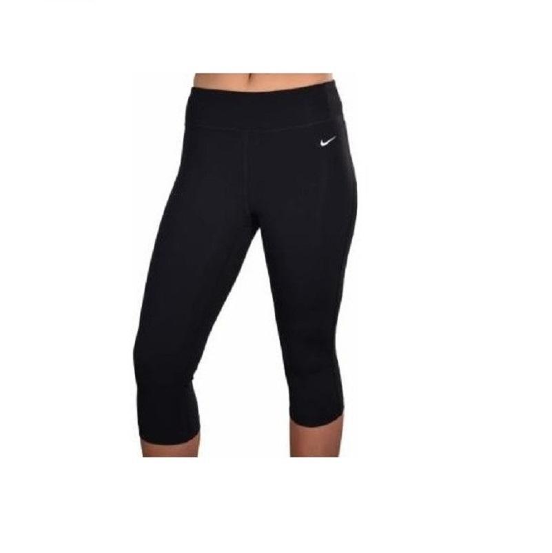 nike yoga pants nike nike 669741-010 womenu0027s tight fit training yoga black capri pants ... QBQBHIT