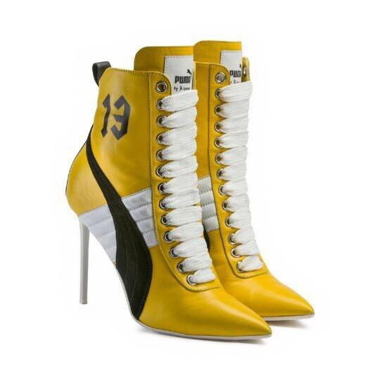puma boots fenty puma by rihanna yellow boots ... RYHUZUM