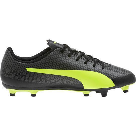 Puma cleats a picture of puma menu0027s spirit fg soccer cleats (right angle view) ... LNRVRUM