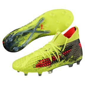 Puma cleats future 18.1 netfit fg/ag menu0027s soccer cleats FTXLEUN