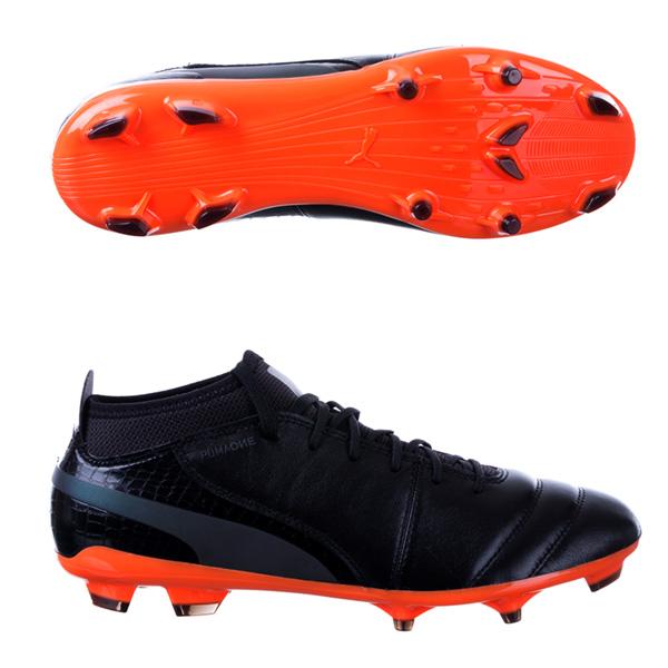 Puma cleats puma one lux 2 fg soccer cleats - black MNSIXAI