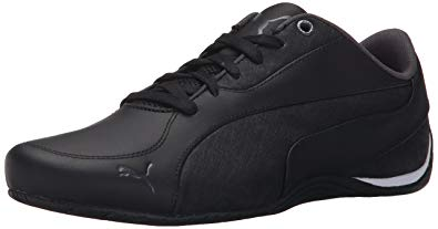 puma drift cat puma menu0027s drift cat 5 lea fashion sneakers, black/asphalt, ... SKZJDOF