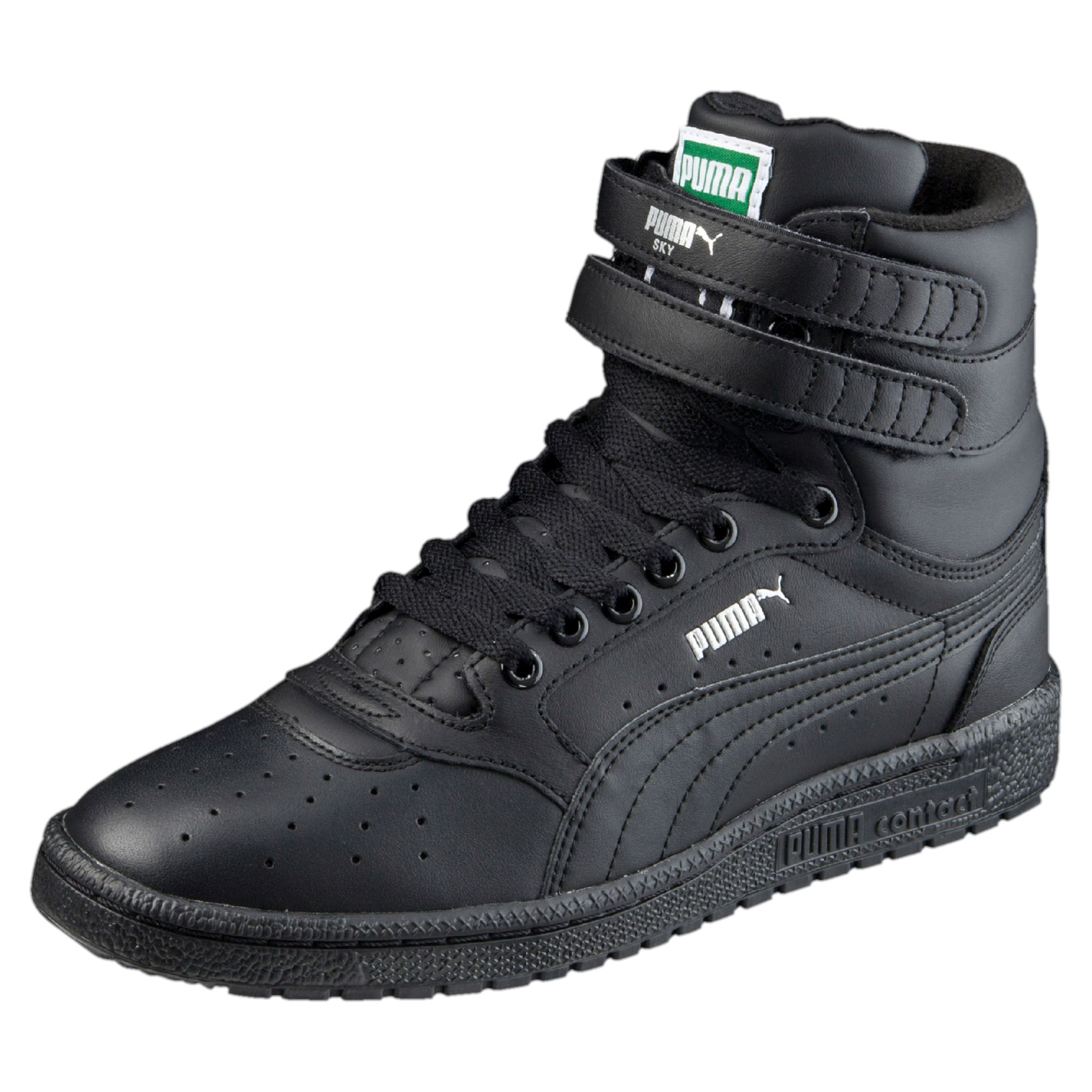 puma high tops puma-sky-ii-hi-high-tops-basketball-high- QSQTOYB