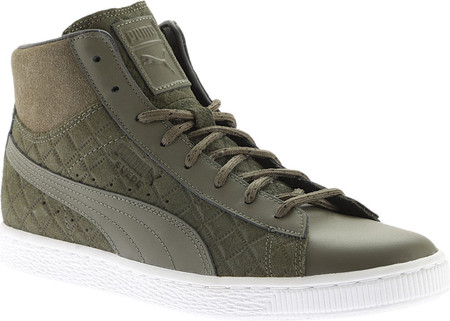 puma high tops puma suede classic mid quilt high top RSPYNIF