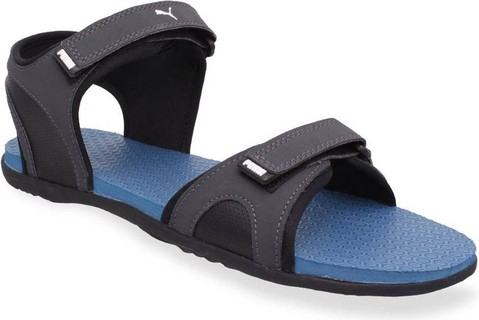 Puma sandals puma sandals u0026 floaters men blue synthetic price in india | compare prices DZPXIMH
