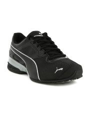 puma shoes for men puma men black tazon 6 fm running shoes VGDLVKU