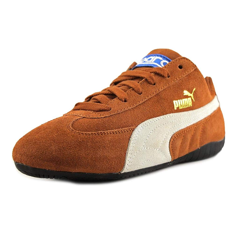 puma speed cat round toe suede sneakers BWIJEUQ