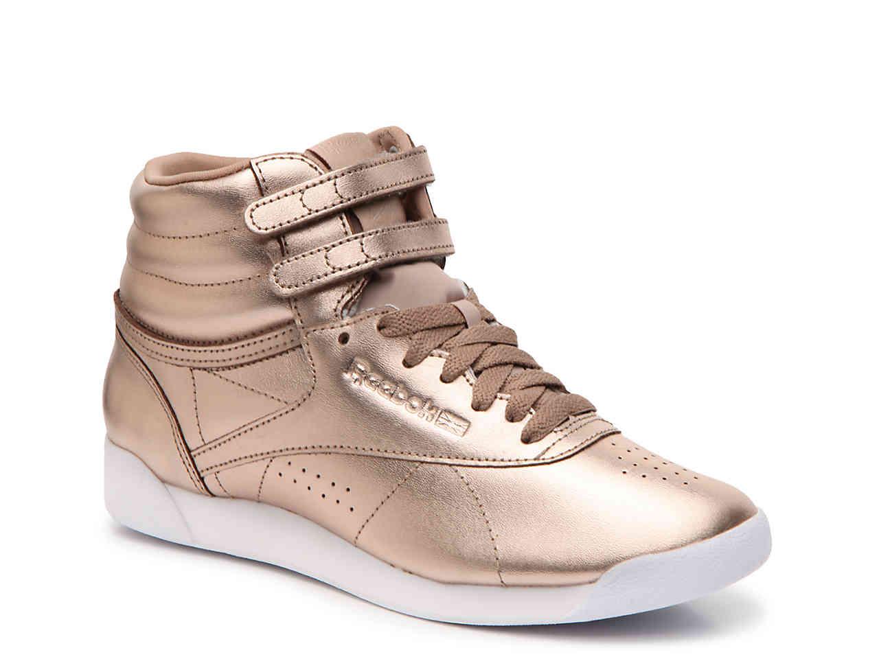 reebok high tops hi metallic high-top sneaker - womenu0027s GYJDBCA