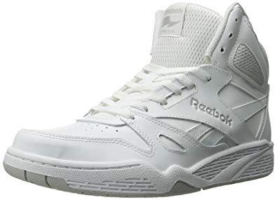 reebok high tops reebok menu0027s royal bb4500 hi fashion sneaker, white/steel, ... BZNUQXT