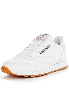 Reebok trainers reebok classic leather mens trainers VDYHBIW