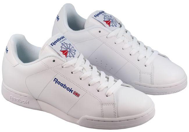Reebok trainers reebok trainers mens npc classic white MEFUPLZ
