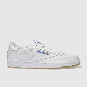 Reebok trainers reebok white club c 85 mens trainers VLKHPRA