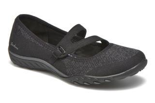 skechers breathe-easy - lucky black mujer zapatos,zapatos skechers mujer  tienda baratas en WOZJHBE
