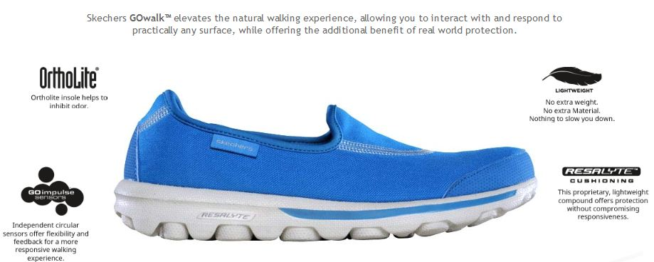 shoes similar to skechers go walk