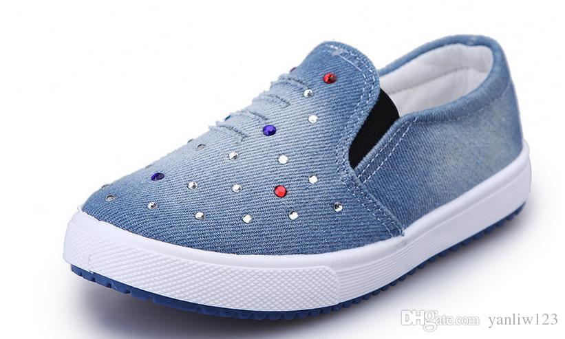 sneakers for girls childrenu0027s shoes toddler canvas sneakers girls cotton sneaker baby tenis  for kids YIJCVNR
