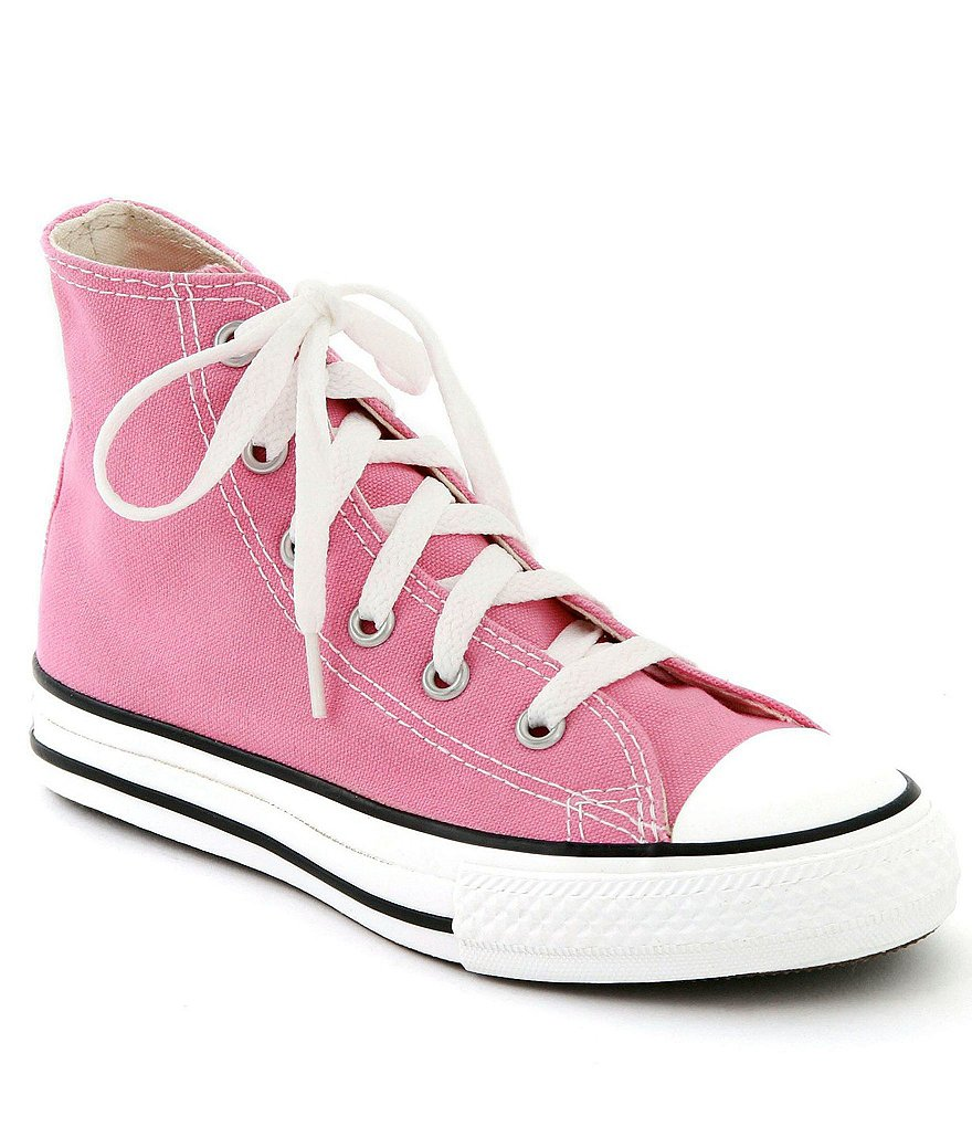 sneakers for girls converse girlsu0027 chuck taylor® all-star® hi-top girls sneakers AMVOELB