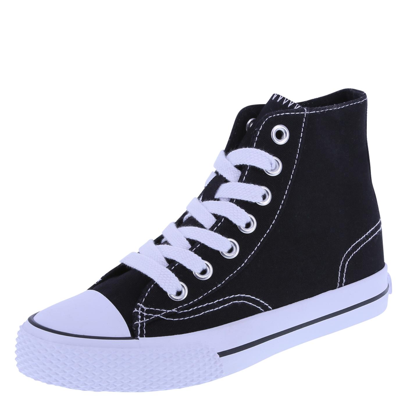 sneakers for girls kidsu0027 legacee sneaker high-top, black/white QQDPKYA