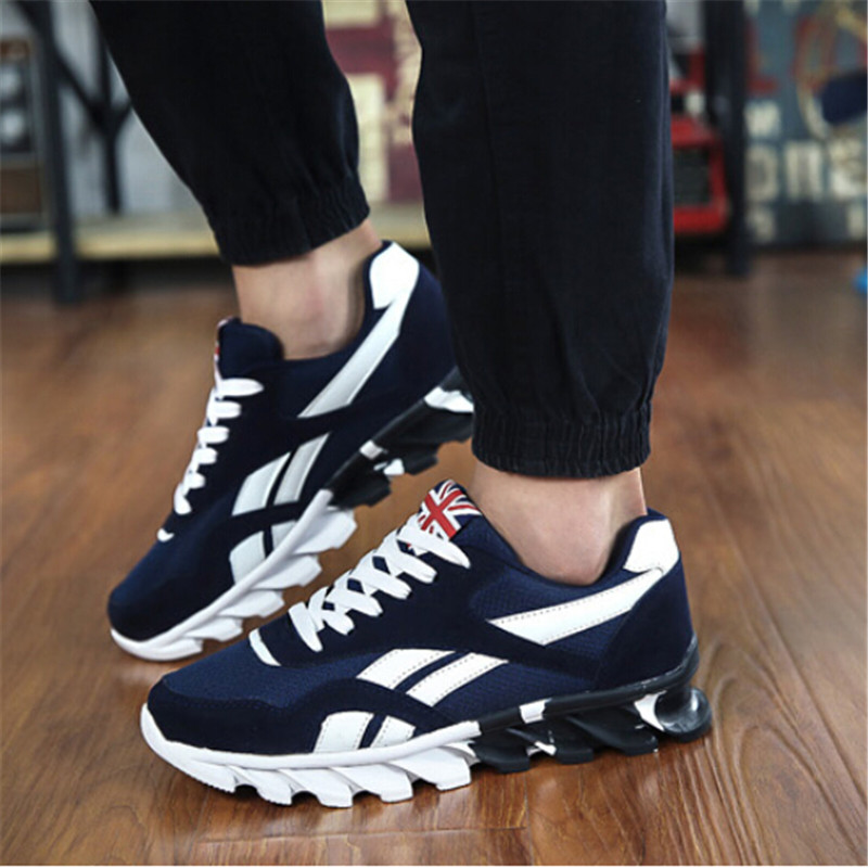 sneakers shoes for men spring autumn menu0027s sneakers 2017 men running shoes trending sports shoes  breathable XHMAAZW
