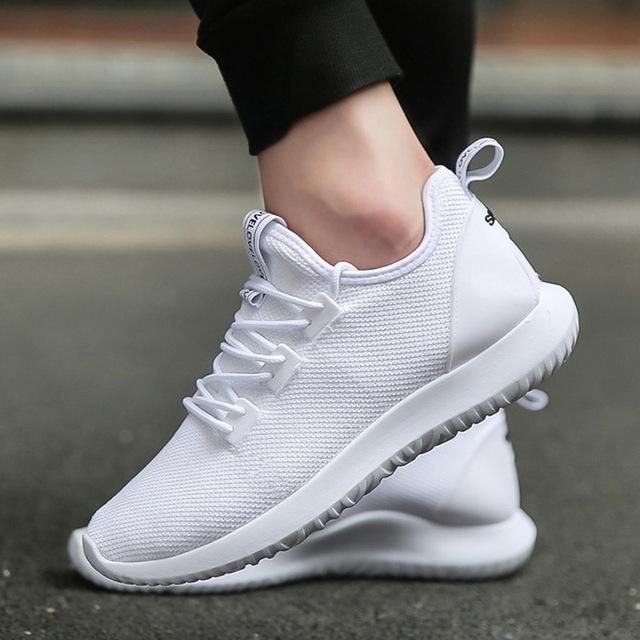 sneakers shoes for men unn hot 2018 knit running shoes white men sport shoes smart chip mens TMWOTIK