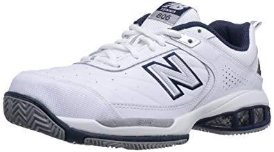 tennis shoes new balance menu0027s mc806 tennis shoe, white, ... YPPVBJX