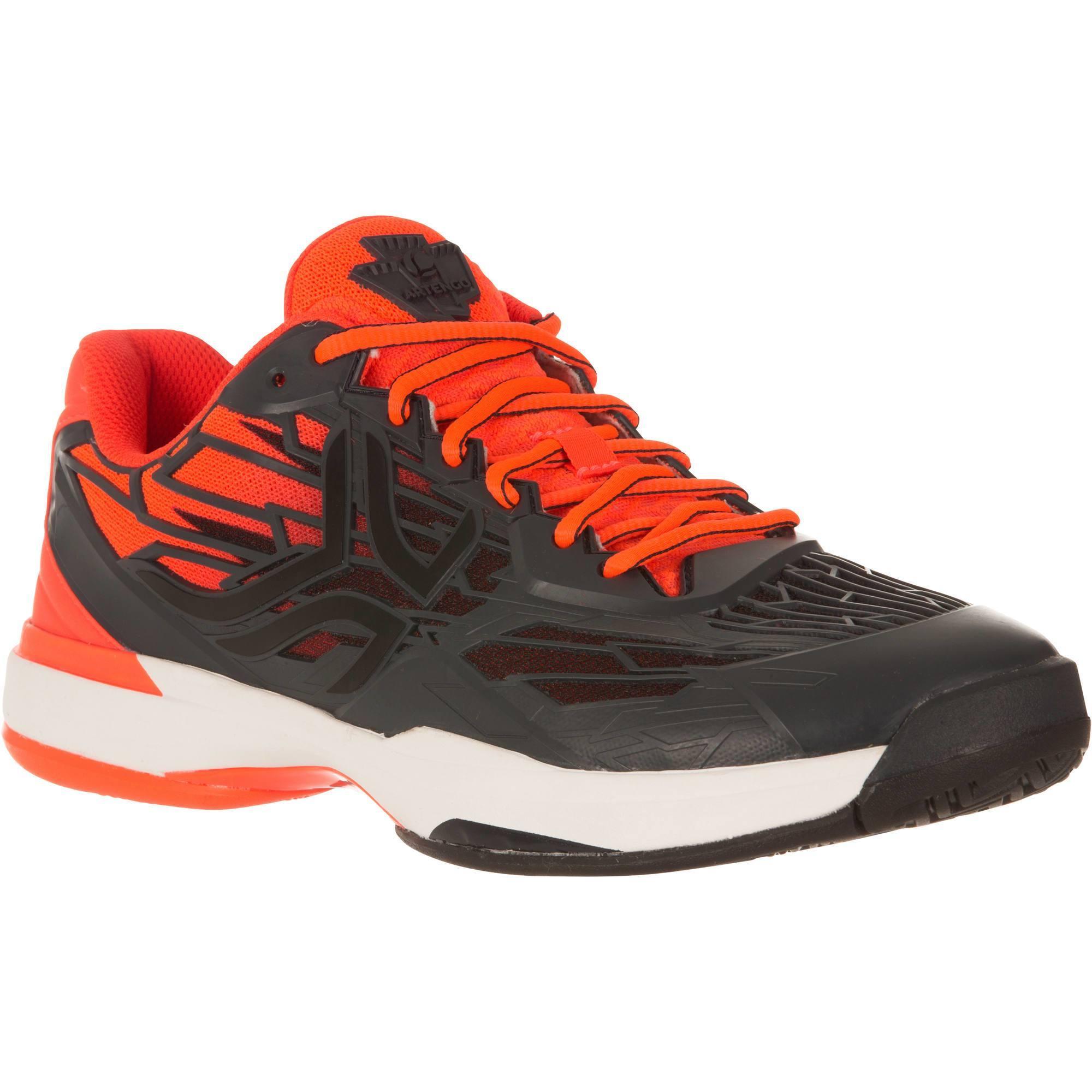 ts990 tennis shoes - black/orange | artengo UVQLXME