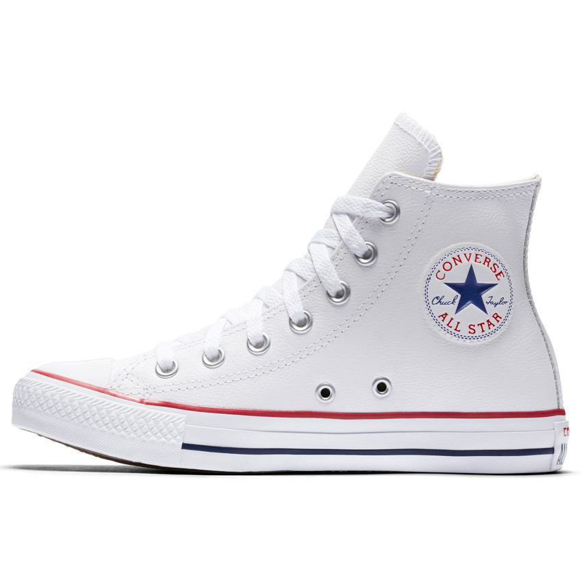 White converse chuck taylor all star leather high top in white | converse.ca EEKSWFS
