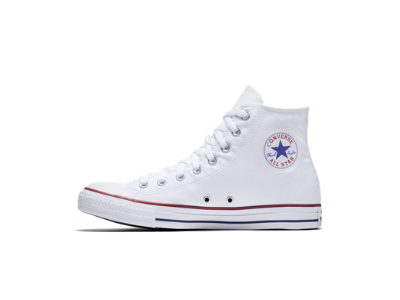 White converse converse chuck taylor all star high top unisex shoe. nike.com MNGPNEH