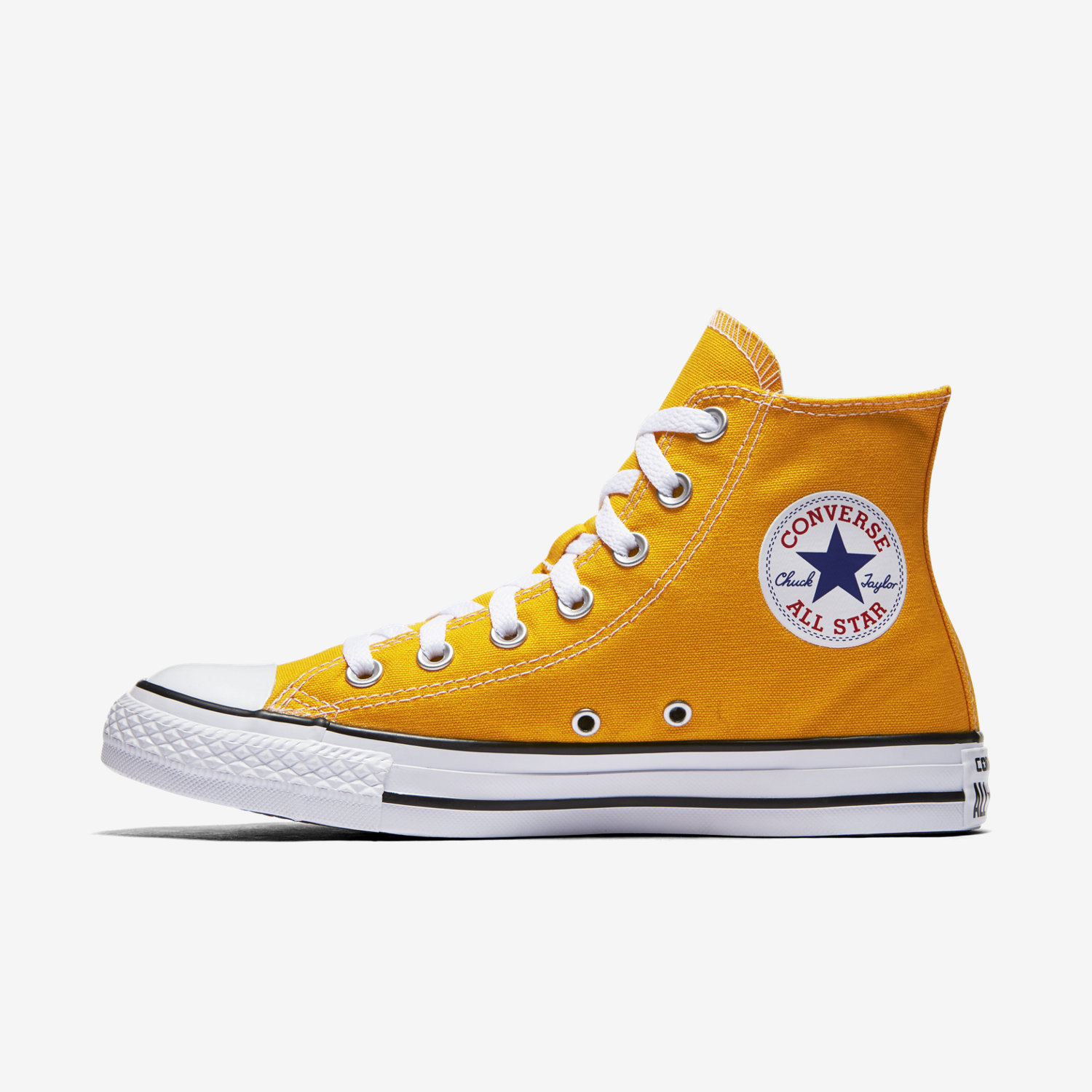 womens orange converse chuck taylor all star seasonal high top shoes | QDOVALR
