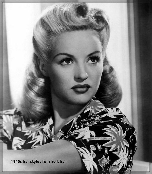 1940s Hairstyles for Short Hair Elegant 48 Awesome 1940s Hairstyles