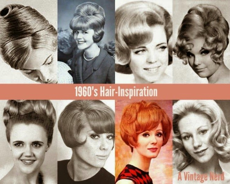 1960's Hair-Inspiration - A Vintage Nerd