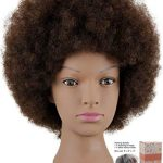 Look simple and innocent with afro hair