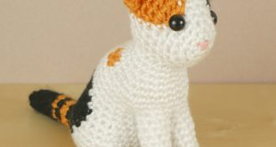 AmiCats Calico Cat amigurumi crochet pattern : PlanetJune Shop, cute