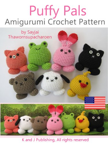 Amazon.com: Puffy Pals Amigurumi Crochet Pattern (Easy Crochet Doll