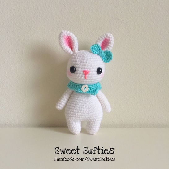 Remi the Rabbit (Twee Toys Collectible Series) - Amigurumi Crochet