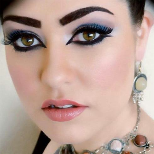 Creative Arabic Eye Makeup Tutorial To Stun Everyone