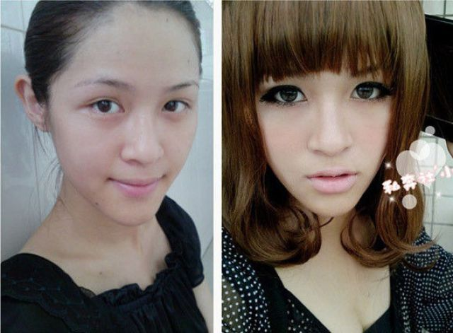 Asian Girls Before and After the Makeup (75 pics) | Temple of Tammy