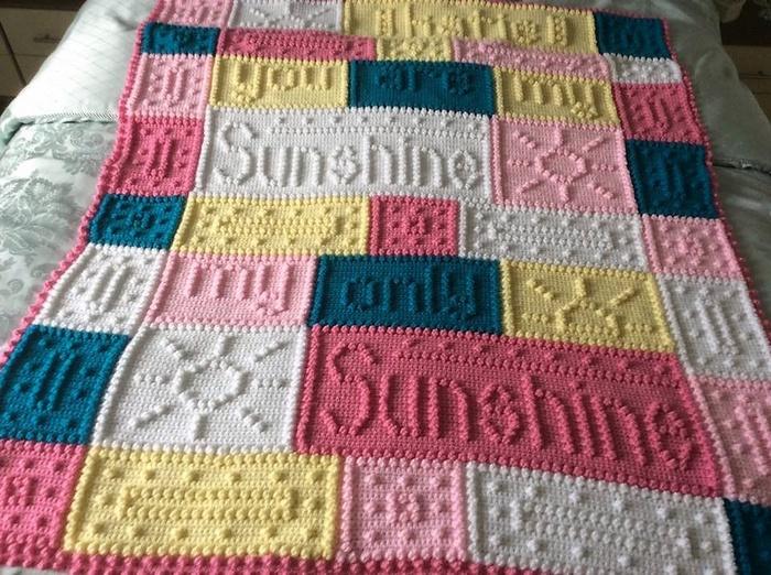 Brightful Design Ideas for Crochet Baby Blankets u2013 1001 Crochet