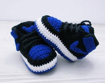 Crochet baby shoes | Etsy