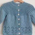 Baby cardigan knitting pattern: let the   fashion zoom around