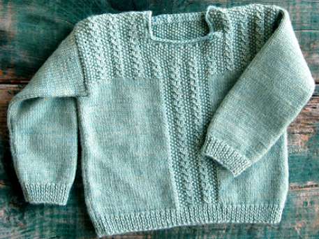 Free Sweater Knitting Pattern for Babies (VIDEO) - Craftfoxes