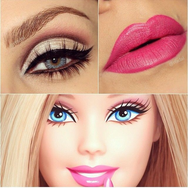 Barbie Makeup | MakeUp in 2019 | Pinterest | Barbie makeup, Makeup