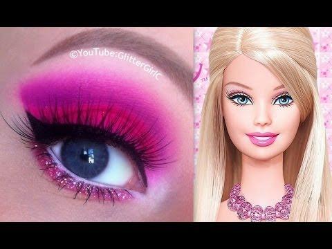 Barbie Makeup Tutorial - YouTube