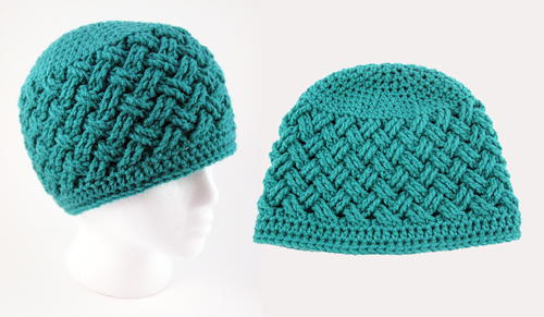 Celtic Dream Crochet Beanie Pattern | AllFreeCrochet.com