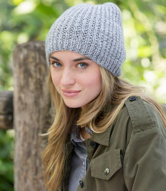 Nice and Easy Beanie Pattern | AllFreeKnitting.com