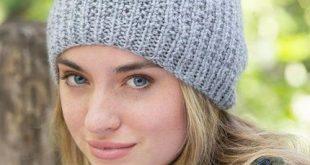 Nice and Easy Beanie Pattern   knitting   Pinterest   Knitting