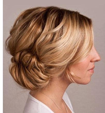 10 Beautiful Hair Bun Tutorials - artzycreations.com